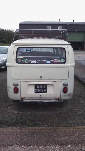 1968 VW T2a 8 SEATER MICROBUS For Sale (picture 3 of 6)