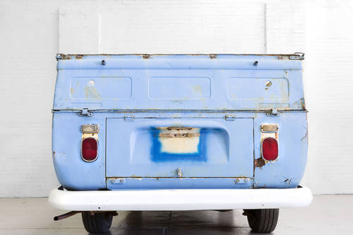 LHD 1969 T2 Volkswagen VW Double Crew Cab Pick Up Truck For Sale (picture 4 of 6)