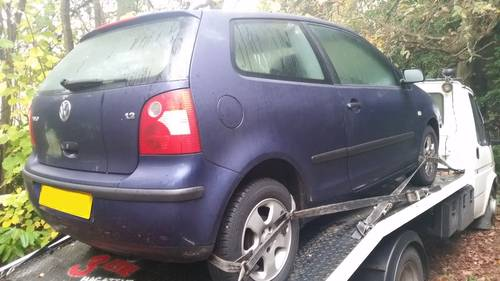 VW Polo 9N 1.2 6v AWY & 1.2 12v AQZ scrap mot failures non r Wanted (picture 3 of 5)