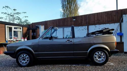 1984 MK1 Golf GTI karmann convertible For Sale (picture 1 of 6)