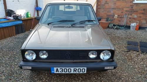 1984 MK1 Golf GTI karmann convertible For Sale (picture 2 of 6)