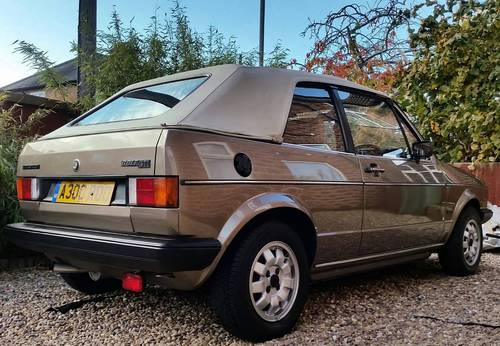 1984 MK1 Golf GTI karmann convertible For Sale (picture 4 of 6)