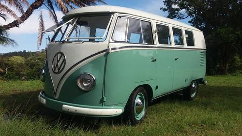 1957 Volkswagen Split Screen Bus For Sale (picture 1 of 6)