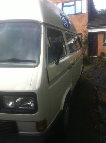 1990 VW - T25 CAMPER - LPG +  PETROL For Sale (picture 1 of 6)