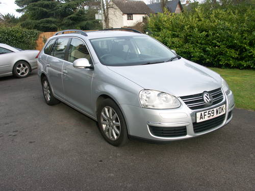 2009 VW golf estate 2.0 TDI For Sale (picture 1 of 6)