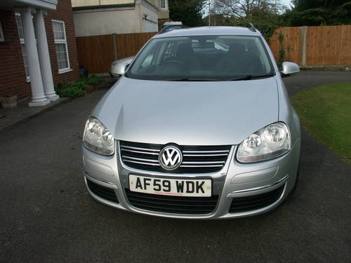 2009 VW golf estate 2.0 TDI For Sale (picture 2 of 6)