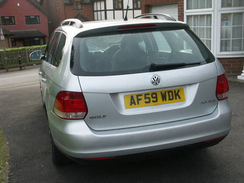 2009 VW golf estate 2.0 TDI For Sale (picture 4 of 6)