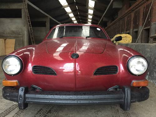 1973 VW Karman Ghia oldtimer project For Sale (picture 2 of 4)