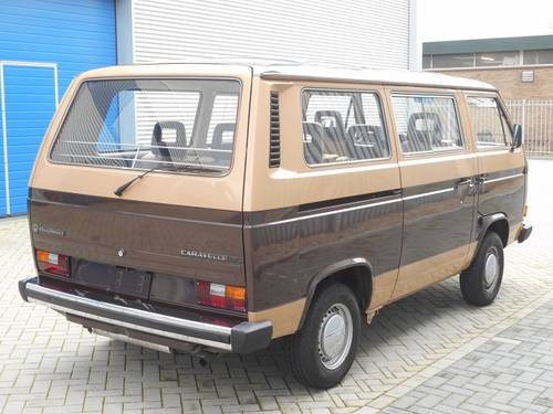 1984 VOLKSWAGEN T3 CARAVELLE GL For Sale (picture 2 of 6)