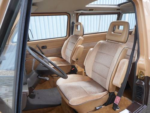 1984 VOLKSWAGEN T3 CARAVELLE GL For Sale (picture 4 of 6)