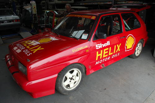 1989 Ex Shell Rally Sport VW Golf Rallye - Original and untouched For Sale (picture 1 of 6)