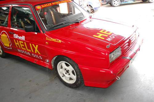 1989 Ex Shell Rally Sport VW Golf Rallye - Original and untouched For Sale (picture 6 of 6)