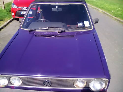 1985 Mark 1 golf gti convertible For Sale (picture 2 of 6)