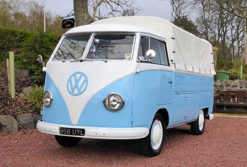 VW SPLITSCREEN PICK-UP TRUCK 1957 RHD Beautiful condition For Sale (picture 1 of 6)