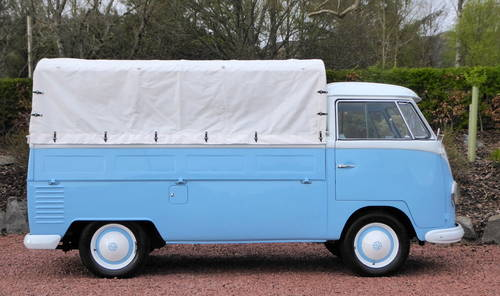 VW SPLITSCREEN PICK-UP TRUCK 1957 RHD Beautiful condition For Sale (picture 2 of 6)