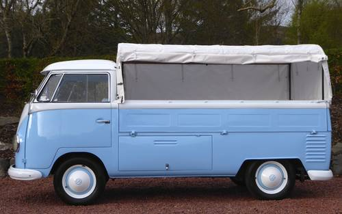 VW SPLITSCREEN PICK-UP TRUCK 1957 RHD Beautiful condition For Sale (picture 3 of 6)