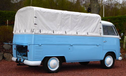 VW SPLITSCREEN PICK-UP TRUCK 1957 RHD Beautiful condition For Sale (picture 4 of 6)