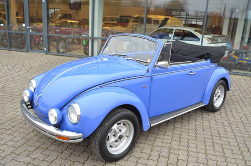 1972 VW 1302 1,5 Cabrio  SOLD (picture 1 of 6)