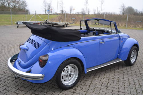 1972 VW 1302 1,5 Cabrio  SOLD (picture 2 of 6)