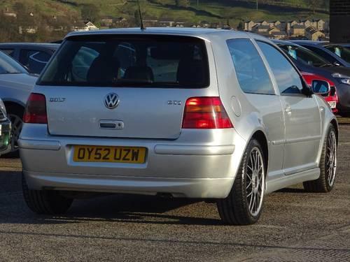 2002 Volkswagen Golf 1.9 TDI PD GTI Anniversary Ltd Edition For Sale (picture 3 of 6)