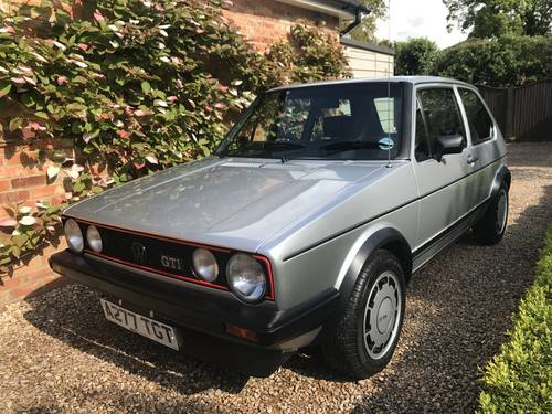 1983 Golf Gti Mk1 Campaign Mint Original Condition 91k Sold Car And Classic