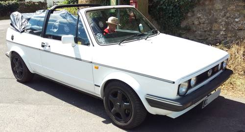 1986 Excellent MK1 Golf GTI Convertible For Sale (picture 1 of 6)