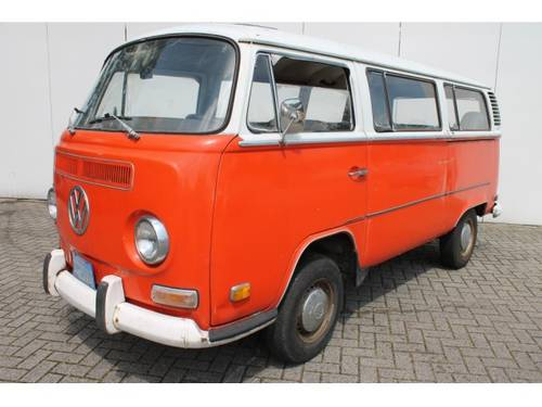 1972 Volkswagen Transporter T2 For Sale (picture 1 of 6)