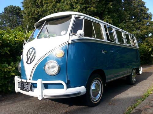 VW 13 Window Deluxe 1966 Original Survivor. SOLD (picture 1 of 6)