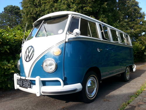 VW 13 Window Deluxe 1966 Original Survivor. For Sale (picture 1 of 6)