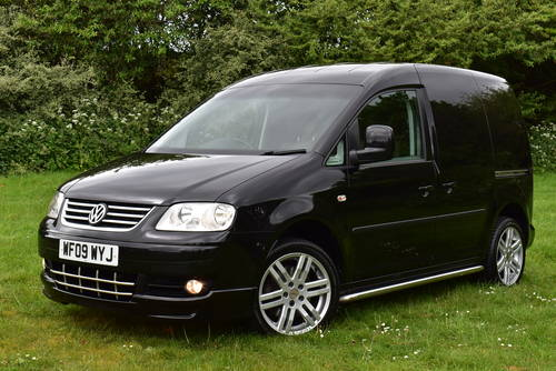 2009 Volkswagen Caddy Sportline 2.0 TDI PD Sportline Panel  SOLD (picture 1 of 6)
