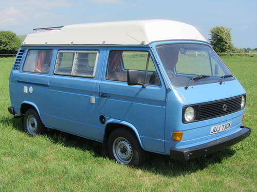 1980 Volkswagen Camper only 74,000 miles from new For Sale SOLD (picture 2 of 6)