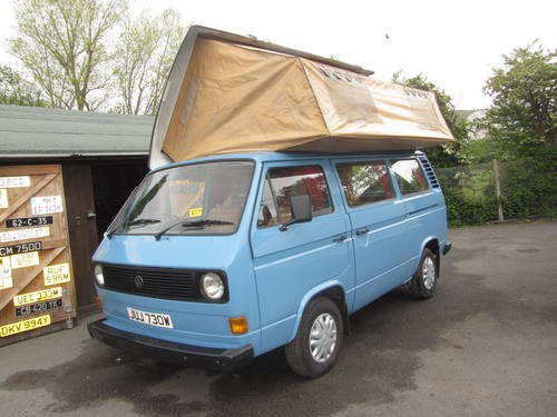 1980 Volkswagen Camper only 74,000 miles from new For Sale SOLD (picture 4 of 6)