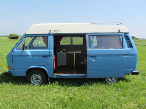1980 Volkswagen Camper only 74,000 miles from new For Sale SOLD (picture 5 of 6)