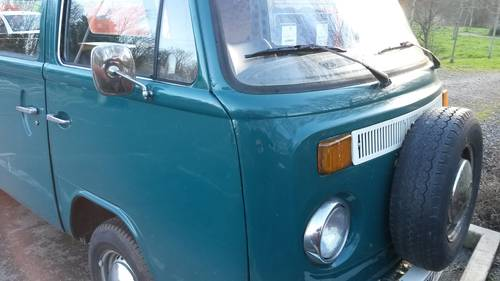 1977 Part converted VW T2 Late Bay Kombi. For Sale (picture 2 of 6)