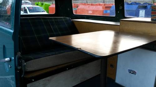 1977 Part converted VW T2 Late Bay Kombi. For Sale (picture 4 of 6)