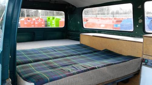 1977 Part converted VW T2 Late Bay Kombi. For Sale (picture 5 of 6)