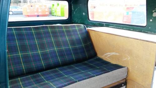 1977 Part converted VW T2 Late Bay Kombi. For Sale (picture 6 of 6)
