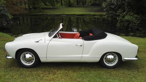 1963 vw karmann ghia convertible( 35.000 euro) For Sale (picture 1 of 6)