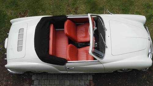 1963 vw karmann ghia convertible( 35.000 euro) For Sale (picture 4 of 6)