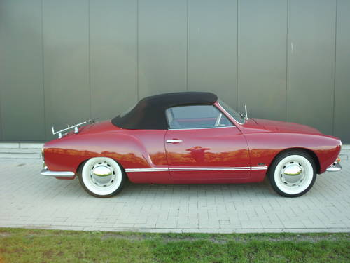 Karmann ghia convertible 1968( new price 30.000 euro) For Sale (picture 1 of 6)
