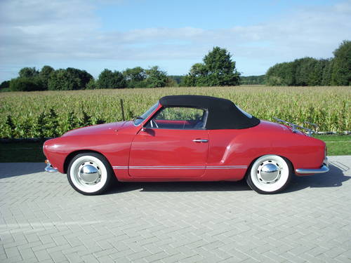 Karmann ghia convertible 1968( new price 30.000 euro) For Sale (picture 2 of 6)