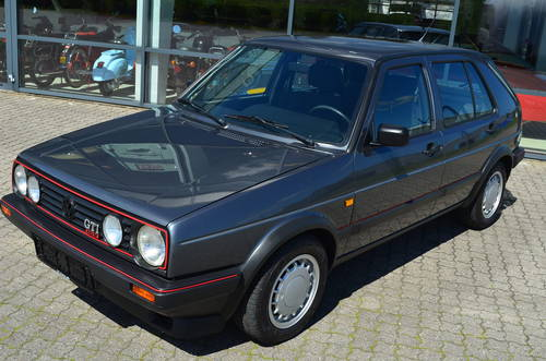 1989  Wolksvagen Golf 2 1,8 GTI 16V SOLD (picture 1 of 6)