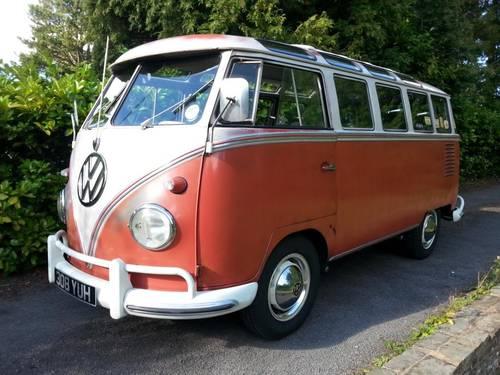 VW 23 Window Deluxe Samba 1960 Original Survivor SOLD (picture 1 of 6)