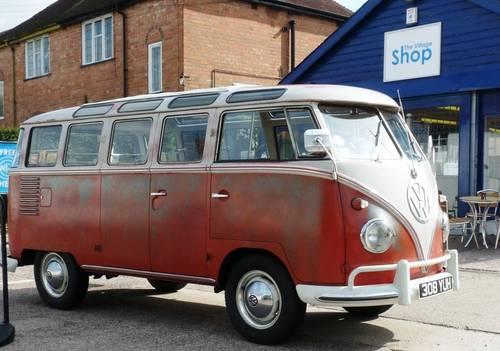 VW 23 Window Deluxe Samba 1960 Original Survivor SOLD (picture 2 of 6)