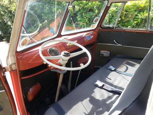VW 23 Window Deluxe Samba 1960 Original Survivor SOLD (picture 4 of 6)