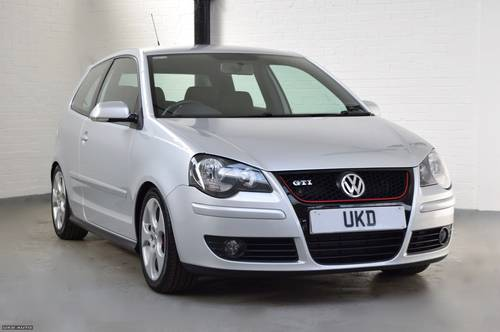 VW VOLKSWAGEN POLO GTI 1.8 TURBO SILVER 3DR 2007  SOLD (picture 1 of 6)