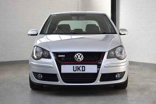 VW VOLKSWAGEN POLO GTI 1.8 TURBO SILVER 3DR 2007  SOLD (picture 2 of 6)