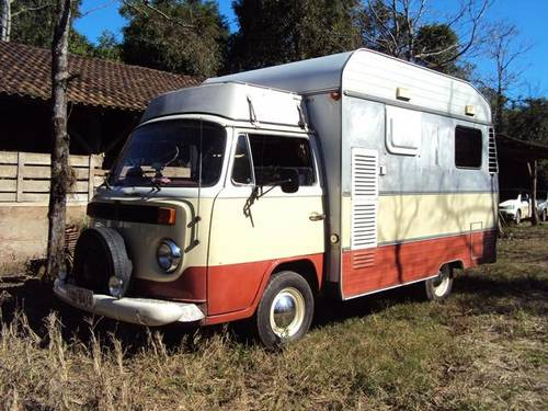 1977 VW bay window Karmann Ghia camper For Sale (picture 1 of 6)