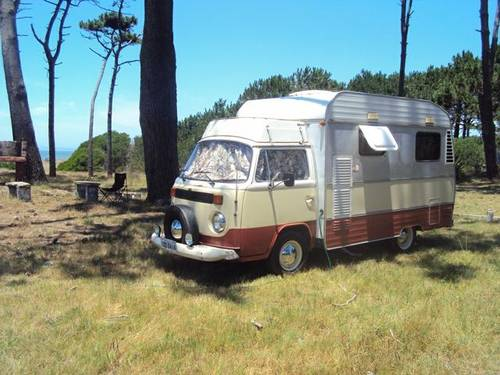 1977 VW bay window Karmann Ghia camper For Sale (picture 5 of 6)