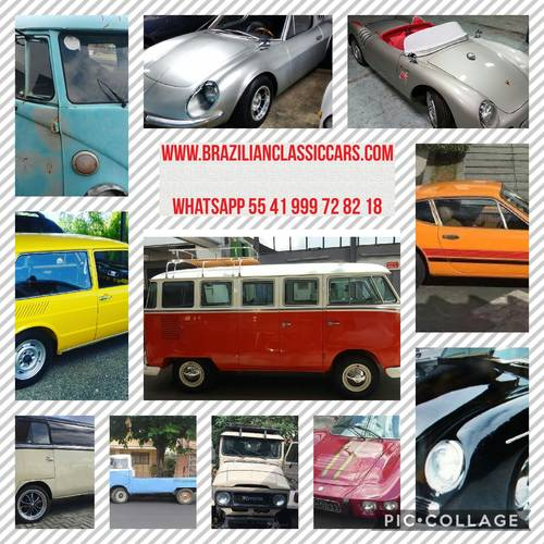 1977 VW bay window Karmann Ghia camper For Sale (picture 6 of 6)